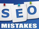SEO Mistakes